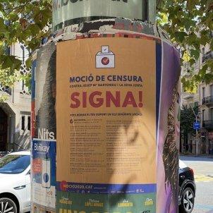 Cartells moció de censura Bartomeu @SeguimentFCB