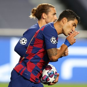 Luis Suárez gol Bayern Griezmann Champions EFE