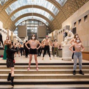 Manifestació Femen museu Orsay / FEMEN