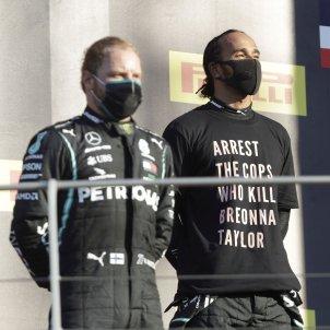 Lewis Hamilton Valtteri Bottas missatge Breonna Taylor Formula 1 efe