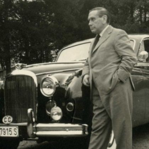 Mor el policia Urraca, el captor del president Companys. Fotografia de Urraca. Font Arxiu Nacional de Catalunya