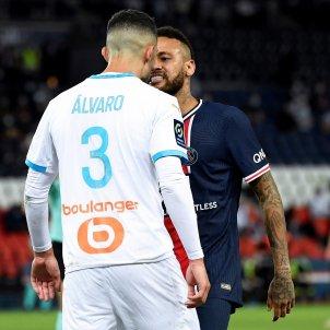 Neymar Alvaro racisme PSG Marsella EFE