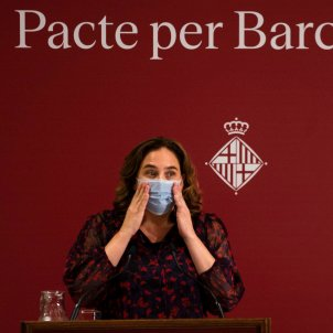 Alcaldessa Barcelona Ada Colau EFE