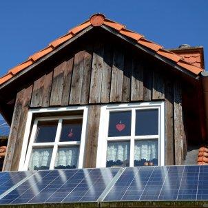 Energia fotovoltaica en un domicili particular. Foto: Pixabay