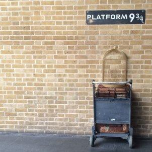 harry potter plataforma unsplash