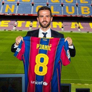 Miralem Pjanic 8 samarreta Barca Barcelona @FCB