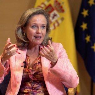 La vicepresidenta tercera y ministra de Asuntos Económicos y Transformación Digital, Nadia Calviño. Foto: Efe