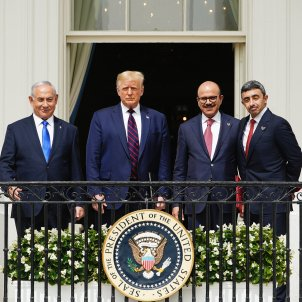 Benjamín Netanyahu donald trump acord diplomatics Israel Emirats Arabs Bahrein - Efe