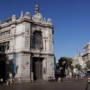 Façana del Banc d'Espanya. Foto: Efe/Chema Moya/Archivo