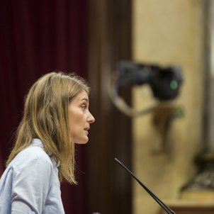Jessica Albiach Debat politica general - Sergi Alcazar