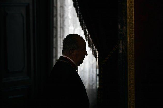 Joan Carles en la sombra GTRES
