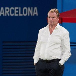 Ronald Koeman entrenador Barca EFE