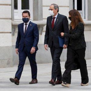 Torra Budó Aragonés entrada tribunal Suprem EFE