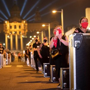 protesta espectacles barcelona efe