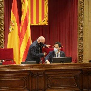 Lletrat Parlament Roger Torrent votació debat política general Parlament - Sergi Alcàzar
