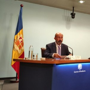 Ministre Sanitat Andorra / Govern Andorra