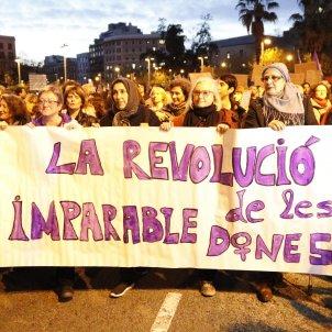 Manifestació Dia Dona - ACN