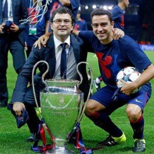 Ricard Pruna Xavi Hernandez Champions @xavi
