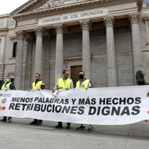 Manifestación militares Madrid / EFE