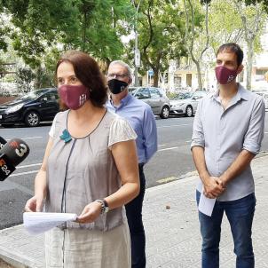 Paluzie ronda premsa carrer ANC