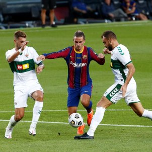 Griezmann Messi Gonzalo Verdú Josema Barça Elx Gamper efe