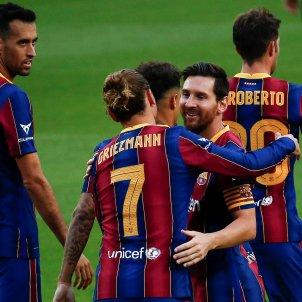 Messi Griezmann gol Barça Elx Gamper EFE