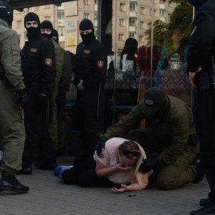bielorússia policia manifestació efe