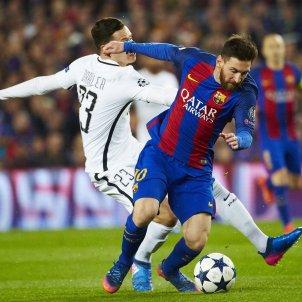 Leo Messi Draxler Champions EFE Barça PSG