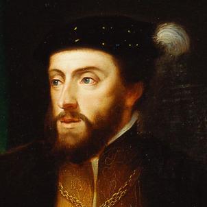 Mor Carles de Gant, el primer Habsburg nomenat comte de Barcelona. Retrat de Carles de Gant. Font Real Academia de la Historia