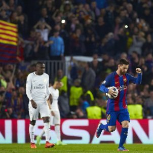 Messi celebracio gol EFE