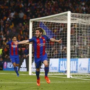 Sergi Roberto gol Barça PSG EFE