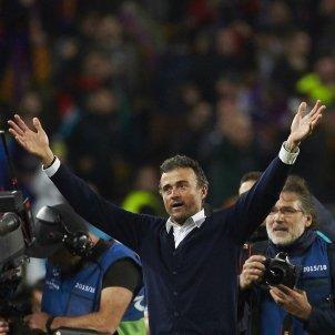 Luis Enrique Champions PSG Camp Nou EFE