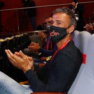 Luis Enrique mascareta aplaudeix EFE