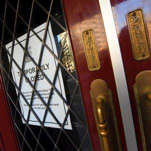 Bar Londres tancat coronavirus EFE