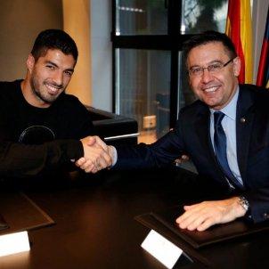 Luis Suarez Bartomeu Barca FC Barcelona
