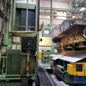 Interior de una fábrica. Foto: Europa Press