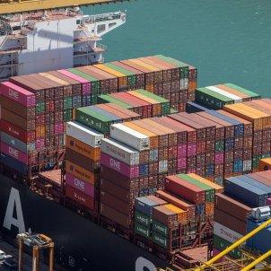 Contenidors al Port de Barcelona. Foto: Port de Barcelona