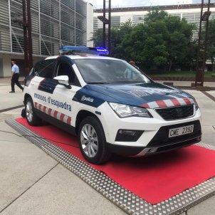 Cotxe nou mossos esquadra - Gemma Liñán