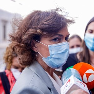 Carmen Calvo, vicepresidenta primera gobierno ministra presidencias relaciones cortes - Europa Press