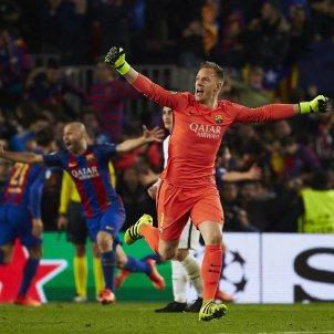 Ter Stegen Barça PSG Champions EFE