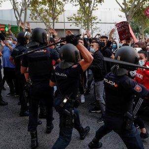 manifestacio policia espanyola càrregues vallecas - efe