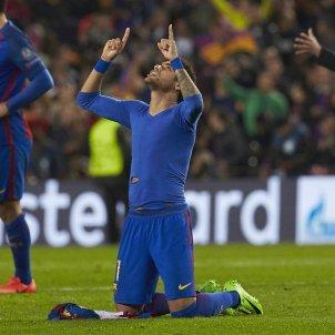 Neymar Barça PSG Champions celebracio gol EFE