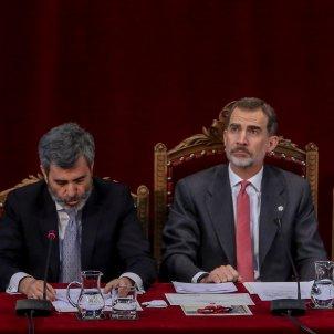Lesmes i felip VI lliurament despatxos jutges Madrid 2019 Europa Press