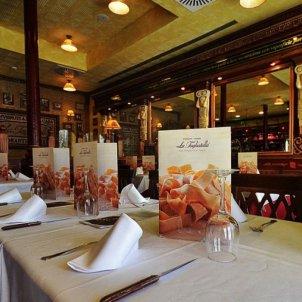 Interior d'un restaurant Tagliatella. Foto: Tagliatella