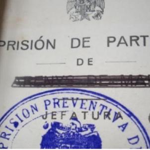 Franco saluda les festes de Tarragona i de Reus, condemnant 29 presos polítics. Auto judicial d'un consell de guerra franquista. Font Esquerra Republicana