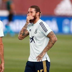 Sergio Ramos rient EuropaPress