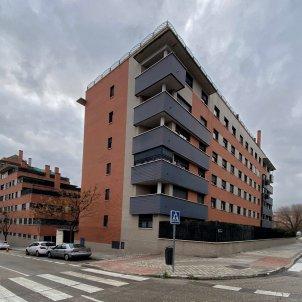 Edificio de viviendas en Madrid. Foto: Europa Press