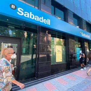 Una oficina del Banc Sabadell a Madrid. Foto: Europa Press