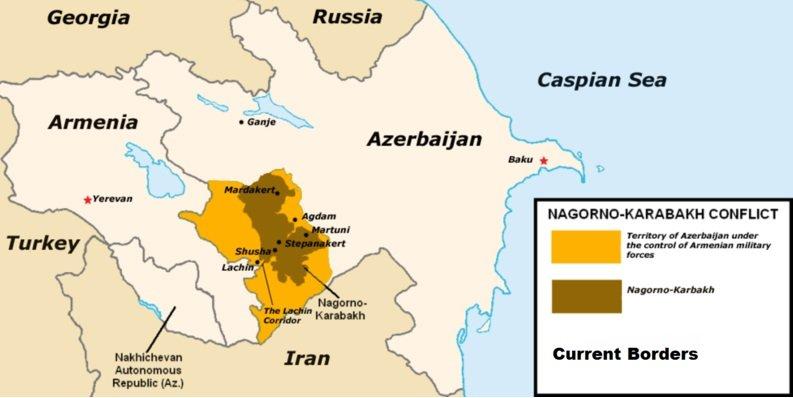 mapa Nagorno Karabakh wikipedia Achemish