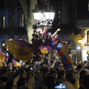 Canaletes Barça PSG Champions EFE